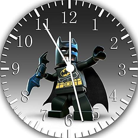Amazon.com: Borderless Batman Frameless Wall Clock Y29 Nice for Decor Or Gifts: Home & Kitchen