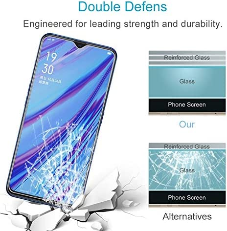 2020 9H 2.5D Screen Tempered Glass Film LGYD for 50 PCS for Oppo A5 A9