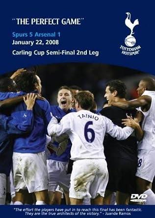 Tottenham Hotspur 5 Arsenal 1 22 01 08 Spurs Dvd Amazon Co Uk Juande Ramos Juande Ramos Dvd Blu Ray