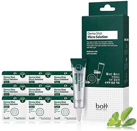 BOTANIC HEAL boH ダーマショットマイクロソリューション /9枚入り+スポットセラム7ml/ニードルパッチ/ボタニックヒールボ