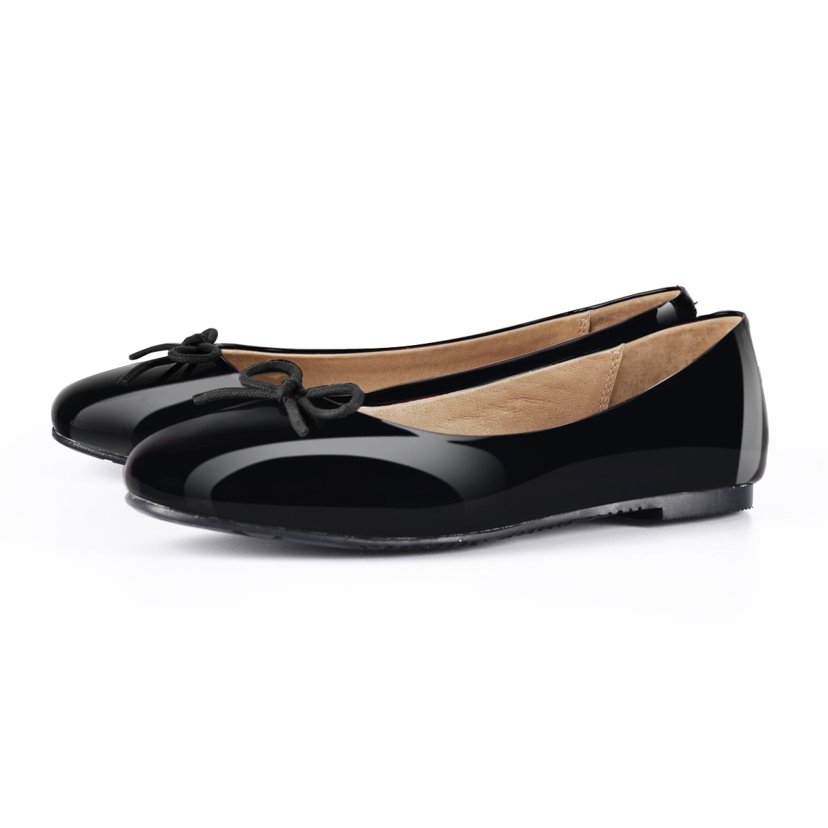 5a40daf8ef Amazon.com | onlymaker Women Round Toe Ballet Flats with Bowknot Slip On  Classic Dress Shoes | Flats