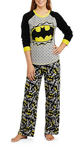 DC Batgirl 2 Piece Fleece Pajama Set