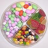 Scott's Cakes 4-Pack Pectin Fruit Gels, Assorted Jelly Beans, Jordan Almonds, & Chocolate Dutch Mints