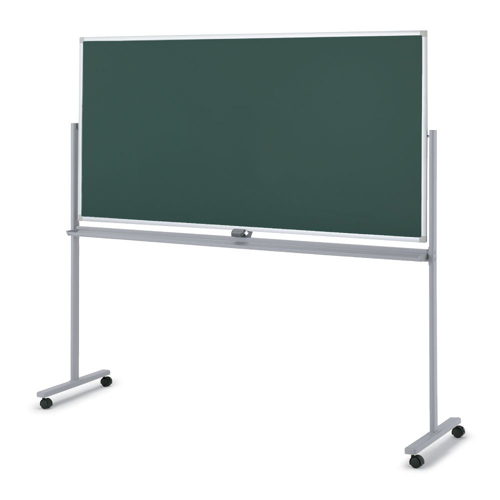 【配送組立設置込】 コクヨ 回転黒板 BB-R900シリーズ BB-R936GG 両面タイプ 幅191.5cm 黒板 無地 幅191.5cm 黒板 無地 B00WMCO51E