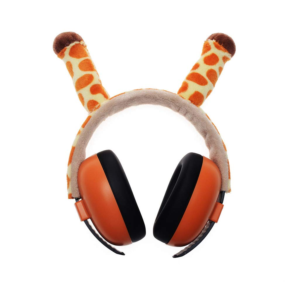 JMF Baby Noise-Proof Earmuffs Cute Noise Canceling Headphones Christmas Birthday Gift Baby Hearing Protection