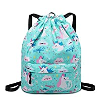 Gym bag drawstring backpack Gym Yoga Sackpack Shoulder Rucksack Beach Bag