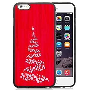 DIY TPU Phone Case Simple Christmas Tree Red Illustration iPhone 6 Plus 5.5 inch Wallpaper