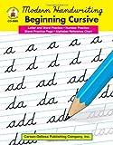 Beginning Cursive, Grades 1 - 3, Carson-Dellosa Publishing Staff, 0887245064