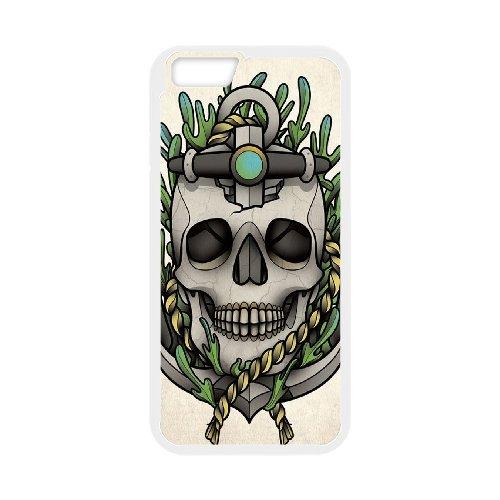 "LP-LG Phone Case Of Sugar Skull For iPhone 6 Plus (5.5"") [Pattern-2]"