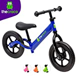 TheCroco Aluminum Lightweight Balance Bike for Toddlers and Kids - Blue