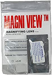 MAGNI-View 2X Mask Magnifying Lens Great for Scuba Divers and Water Sports