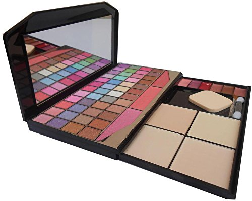Buy TYA Laptop Fashion Makeup Kit with 48 Colour Eye Shadow, Compact and Blusher, Etc -590 Online at Low Prices in India - Amazon.in