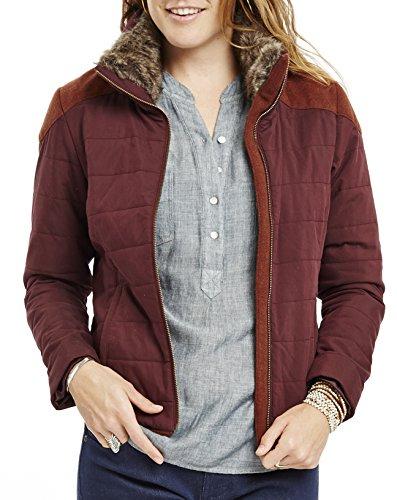 Carve Designs Women's Ventura Puffer Jacket, Spice, Medium by Carve Designs