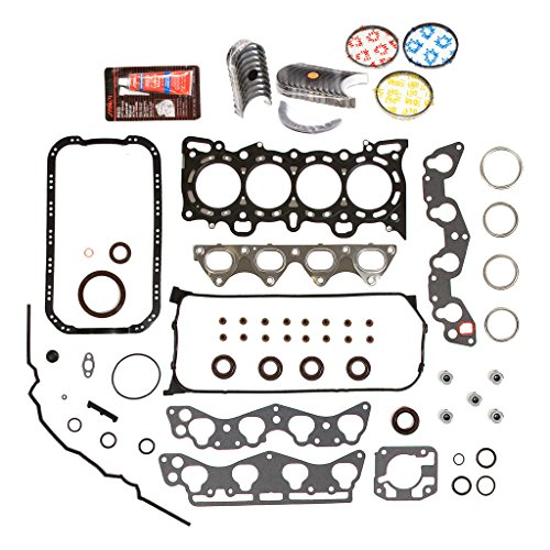 Evergreen Engine Rering Kit FSBRR4029EVE\0\0\0 96-00 Honda Civic 1.6 D16Y5 D16Y7 Full Gasket Set, Standard Size Main Rod Bearings, Standard Size Piston (Rod Bearings Standard)