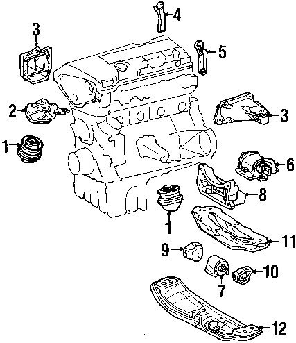 Mercedes E320 Engine Diagram Starter