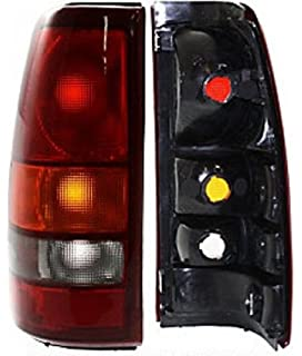 Discount Starter and Alternator CH2801147 Taillight Replacement For Dodge Ram Passenger Side Plastic Lens Without Bulbs