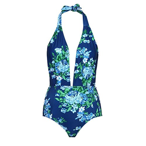 ARINLA 2018 Summer Female Retro Swimming Without Back high Waist Pinup Swimsuit from ARINLA