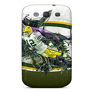 Muv10537BSmv Anti-scratch Cases Covers Carolcase168 Protective Green Bay Packers Cases For Galaxy S3
