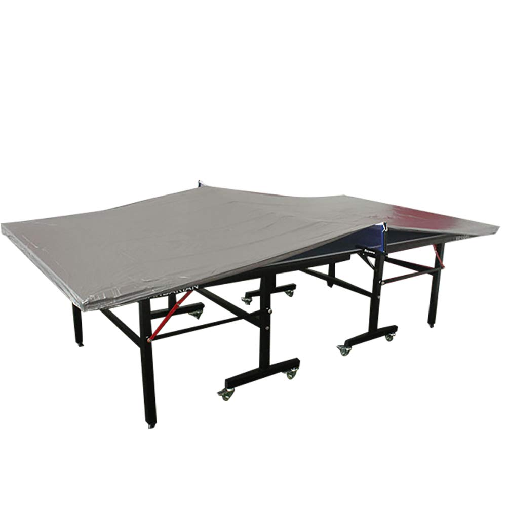 QEES Indoor Ping Pong Table Cover, Heavy-Duty Waterproof Dustproof Table Tennis Cover, UV Protected, Windproof 108'' Lx60 W PPQZ04 by QEES (Image #2)