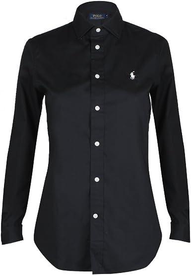 Polo Ralph Lauren Kendall LS Shirt Stretch Poplin Camisa para Mujer