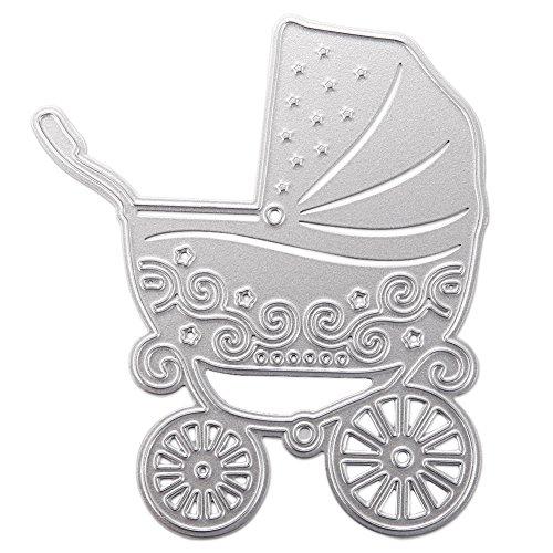 Baby Stroller Stencil - 1