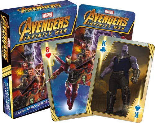 Aquarius Marvel Avengers Infinity War Playing Cards]()