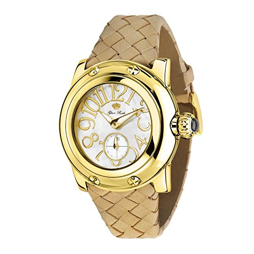 GLAM ROCK WOMEN'S SUMMER TIME 40MM LEATHER BAND SWISS QUARTZ WATCH GR40037 by Glam Rock