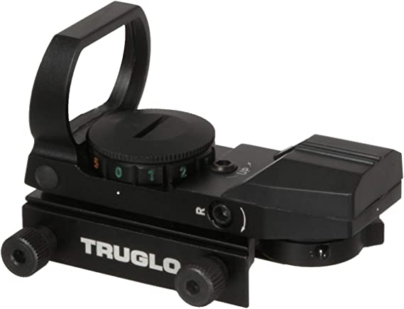 TRUGLO Dual-Color Multi-Reticle Open Dot Sight
