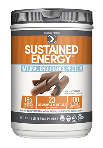 Designer Protein Sustained Energy Premium Protein Powder with Soy