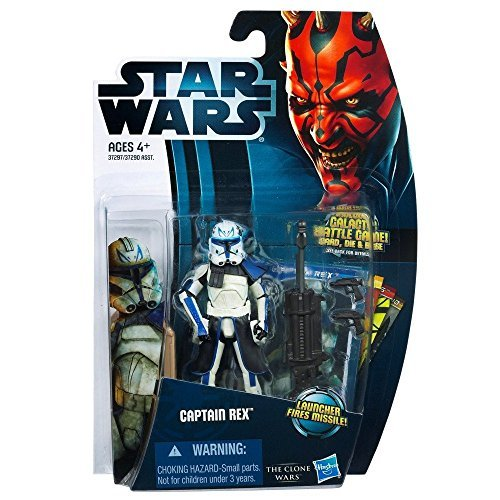 Star Wars Clone Wars Captain Rex 2012 Action Figure -