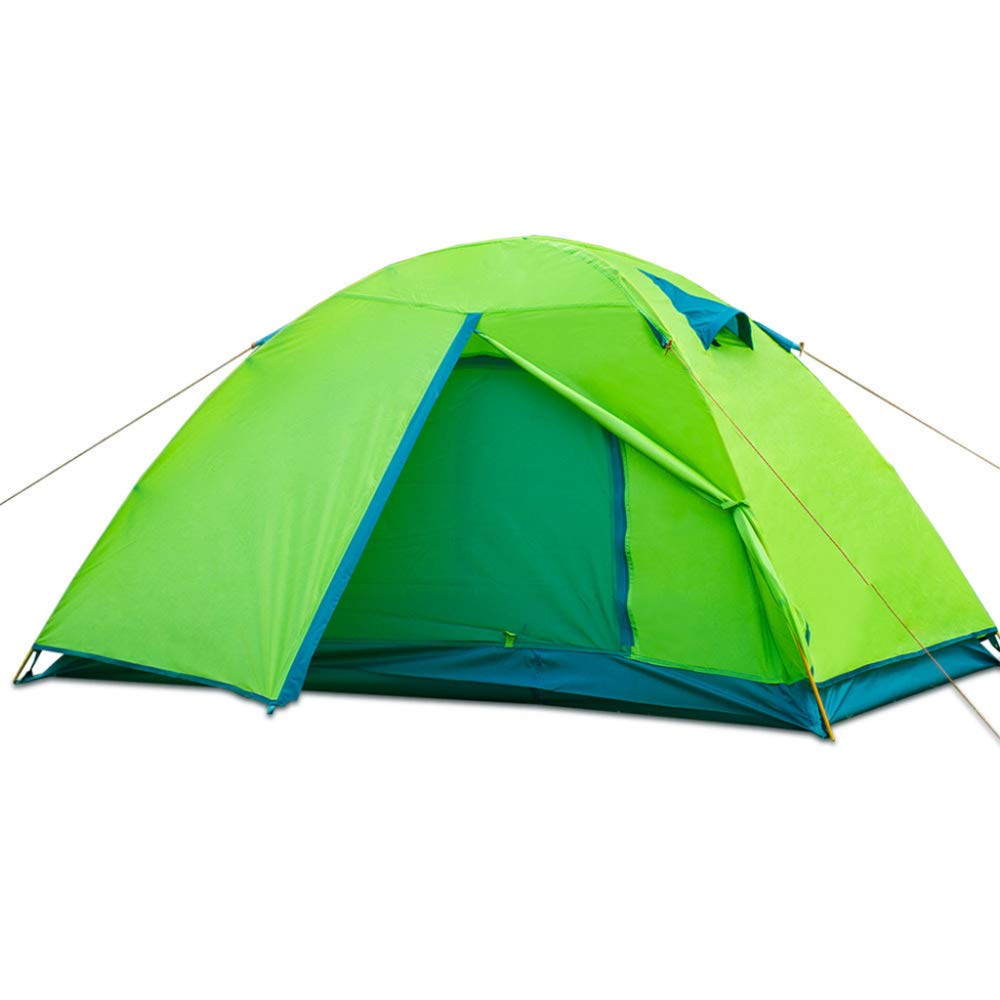 DLLzq Wasserdichtes Outdoor-Zelt 2 Personen-Rahmen Leichter Tragbarer Schirm Camping Picnic