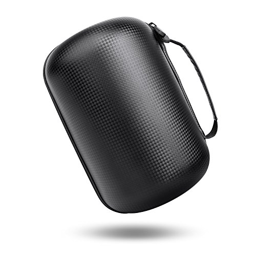 HomePod Travel Case, Carry Bag With Holding Strap Drop, Protection Dust Cover Shockproof Carrying Case For Apple HomePod Speaker (Black) by BESTAND (Image #2)