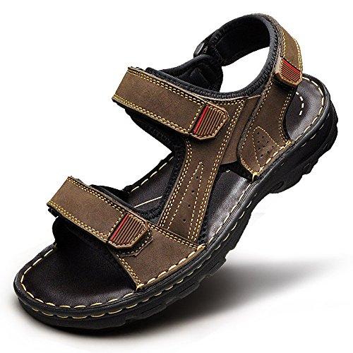 Movimiento Masculina Marrón Zapatillas Moda Sandalias Playa Casual HUO De Suave Sandals Aire Libre Zapatos Verano Al Inferiores 8W0Bqwf