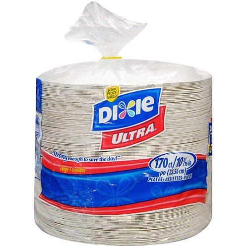 Dixie Ultra Paper Dinner Plates, 10