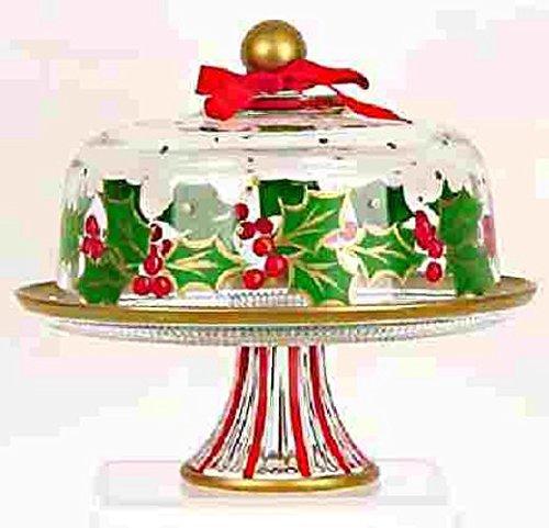 Christmas cake plates holiday cake plate cake platesChristmas pedestal cake plates  sc 1 st  Amazon.com & Amazon.com: Christmas cake plates holiday cake plate cake plates ...