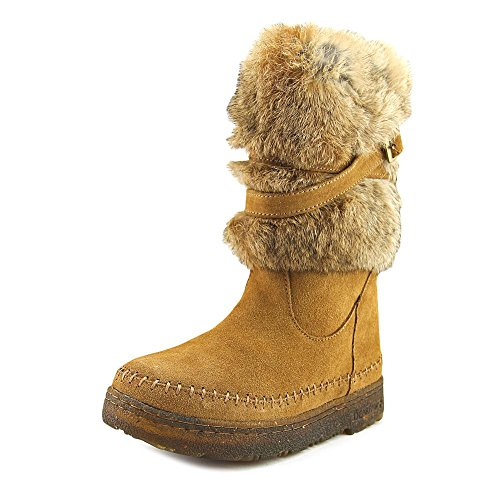 Pictures of Bearpaw Kara Women Round Toe Fur Snow Boot 1939W Black 1