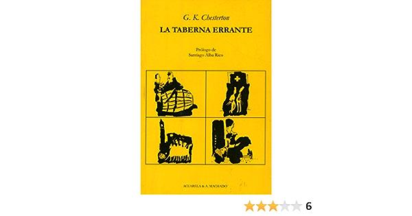 La taberna errante (Acuarela & A. Machado nº 14)