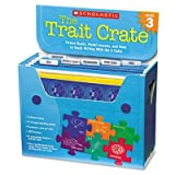Scholastic - Trait Crate Grade 3 Seven Books Posters Folders Transparencies Stickers ''Product Category: Classroom Teaching & Learning Materials/Teacher's Aids & Manuals''
