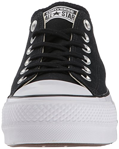 Converse Lift Black Women's Sneaker Canvas White White Low Top rZrnxTp