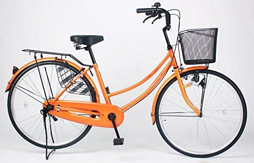 21Technology 【MC260-N】ママチャリ 自転車 26インチ B01N2B5W7L オレンジ オレンジ