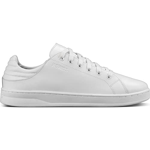 K-Swiss Quick Court Hombre Zapatillas Blanco: Amazon.es: Zapatos y complementos