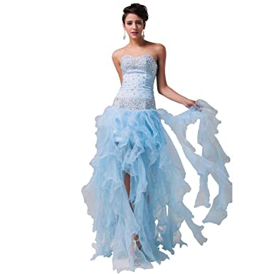 gyjdtcKr Women Organza Party Gowns Long Special Occasion Evening Dresses