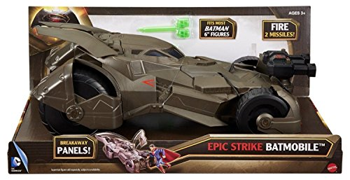Batman v Superman: Dawn of Justice Epic Strike Batmobile Vehicle Toys For Kids .HN#GG_634T6344 G134548TY17305