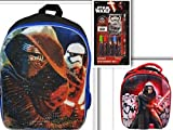 Star Wars Back to School Bundle - 3 Items (11 pcs): Star Wars Episode 7 16
