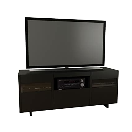 Amazon Com Vision 60 Inch Tv Stand 101406 From Nexera Black