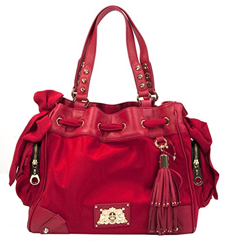 Juicy Couture Daydreamer Shoulder Bag,Red Siam,One Size
