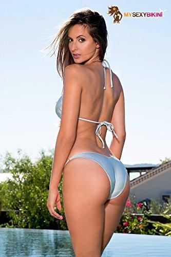 da String bagno verde blu oro arancione Sexy metallizzato nbsp; Bikini Costume argento dTwnxd