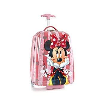Disney Minnie Mouse Hard Shell Luggage for Kids - 18 Inch Carry-on  Suitcase  Amazon.co.uk  Luggage d51ef55894560