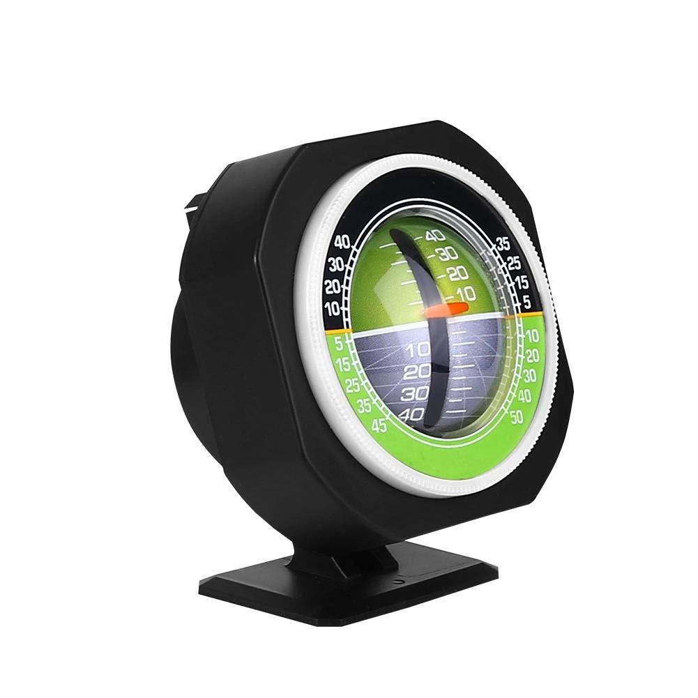 Dewin Balanceador de Pendientes Inclinado, Luminoso LED Car Inclinómetro Balanceador de medidores de ángulo Inclinado para mediciones de Pendiente multifunción al Aire Libre