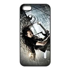 Dragonforce 001 funda iPhone 4 4S Negro de la cubierta del teléfono celular de la cubierta del caso funda EOKXLLNCD19300